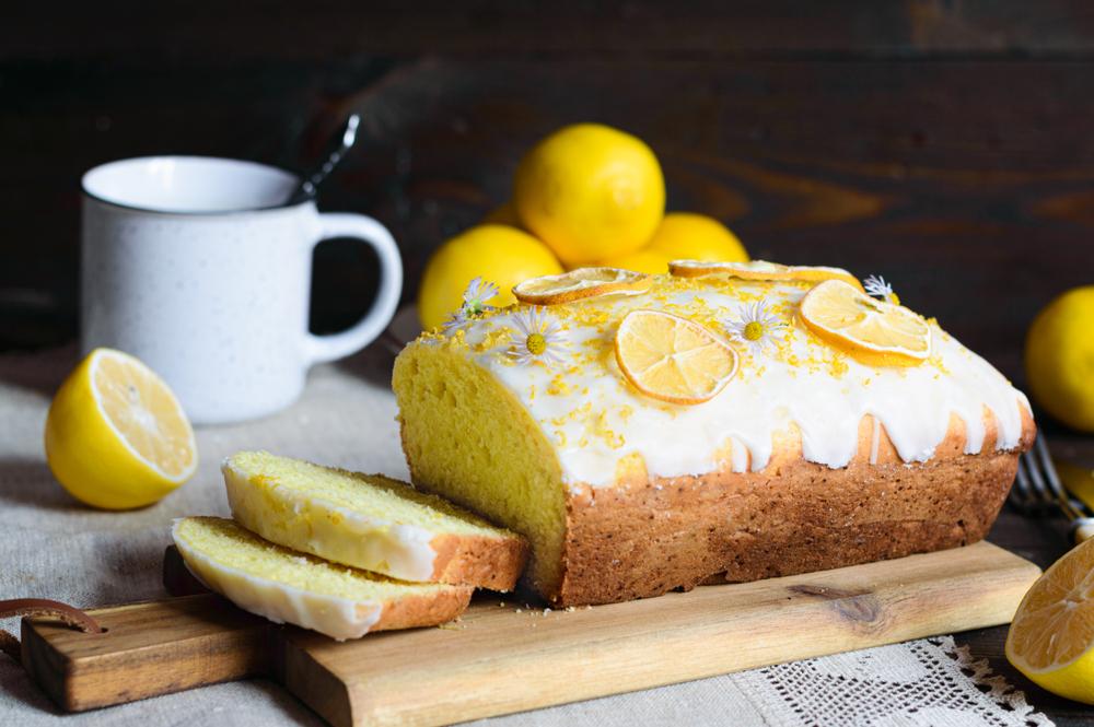 bizcocho vegano de limon